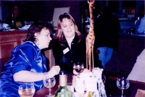 1996 Delyth Rhian jiraff