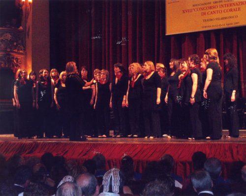 2007 Verona Llwyfan